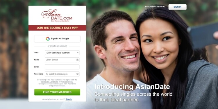 asian date
